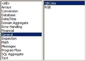 Access VBA kursus - indbyggede VBA funktioner, general- fjernundervisning