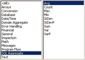 Access VBA kursus - indbyggede VBA funktioner, SQL aggreate - fjernundervisning