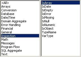 Excel VBA kursus - indbyggede VBA funktioner, inspection- fjernundervisning