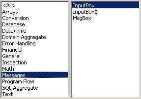 Excel VBA kursus - indbyggede VBA funktioner, messages- fjernundervisning